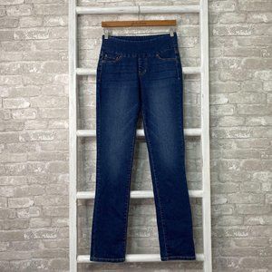 Jag High Rise Straight Leg Jeans Size 2